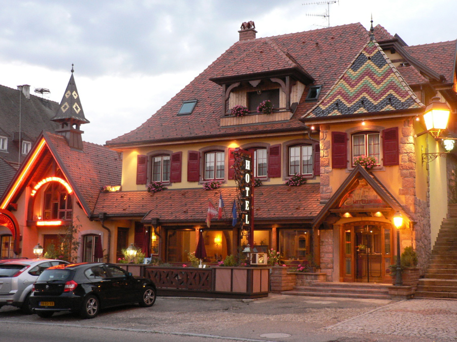 Hotel le mittelwihr - Restaurant la table de mittelwihr ...